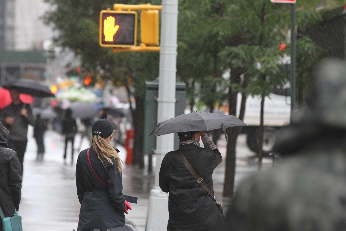 La advertencia emitida por el Servicio Nacional de Meteorología expira el sábado por la mañana.