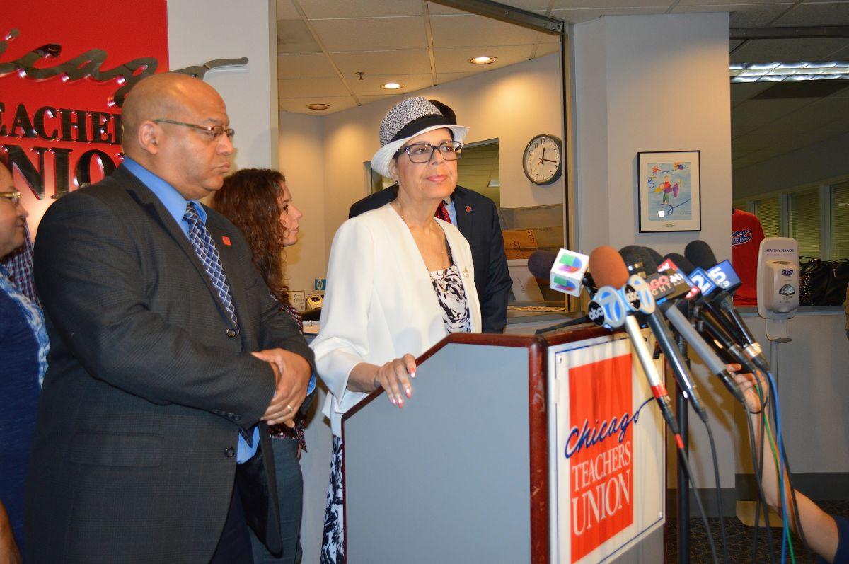 Muere Karen Lewis, expresidenta del Sindicato de Maestros de Chicago