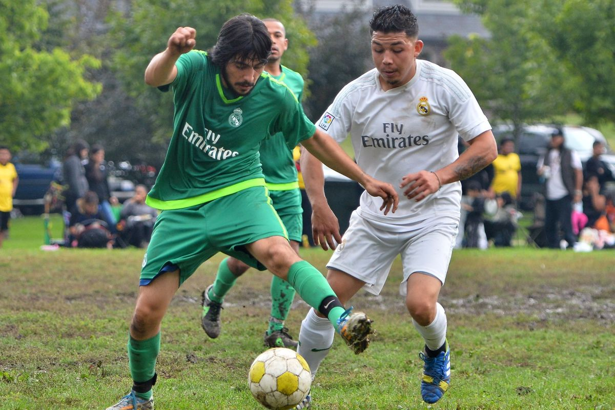 La Mangana y Ojo Seco jugaron lluviosa final