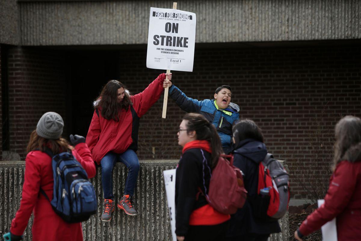 No hubo huelga de maestros de CPS el pasado 11 de octubre en Chicago, luego de que el Sindicato y las autoridades lograronun acuerdo. En abril pasado sí se realizó una huelga de un día.