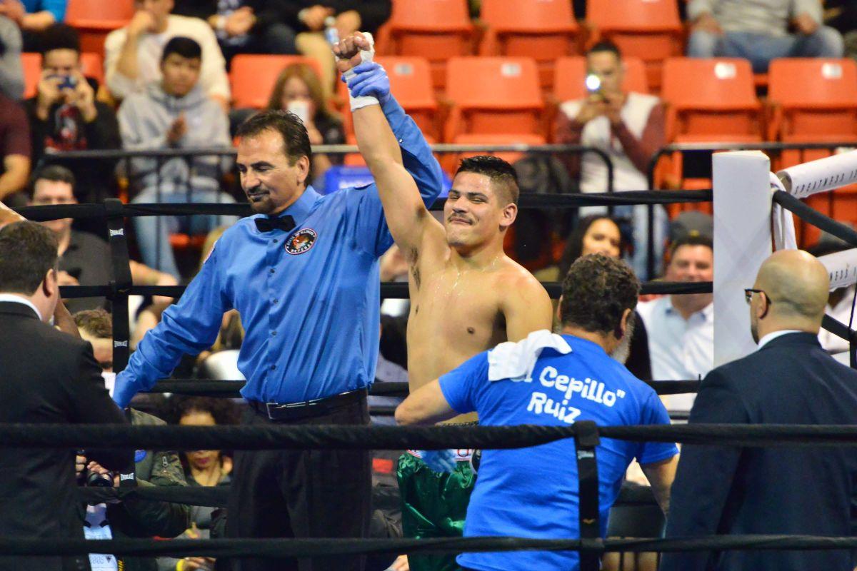 'El Cepillo' Ruiz tiene hambre de triunfar