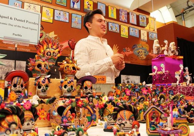Un festival de artesanías mexicanas se realizará el 13 de octubre en el Museo Nacional de Arte Mexicano de Chicago. (Irene Tostado / La Raza)