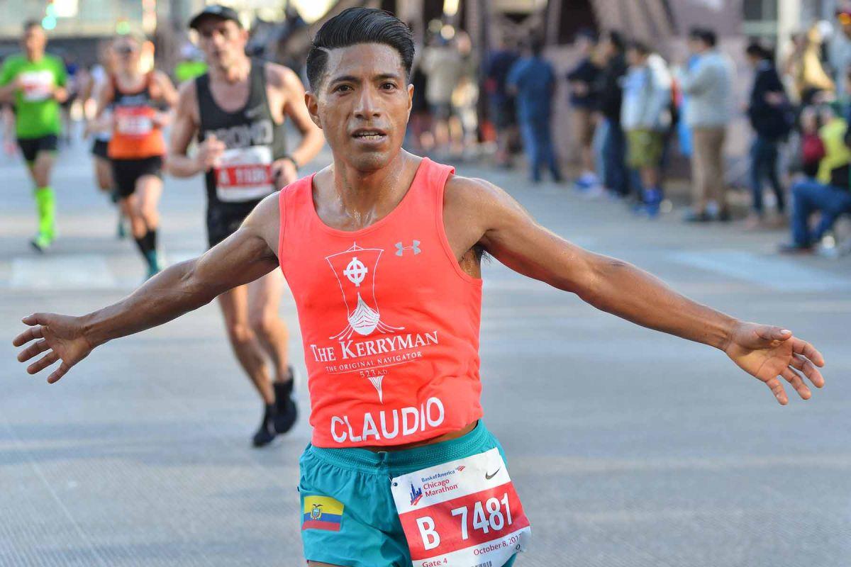 Brillan los latinos en el 40 aniversario del Maratón de Chicago