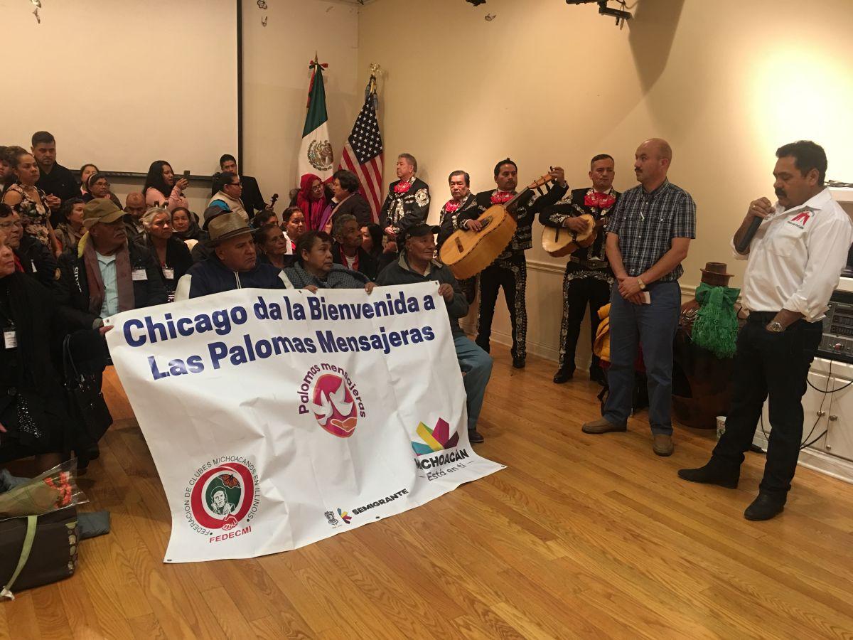 Mexicanos logran la reunificación familiar en Chicago durante las fiestas decembrinas