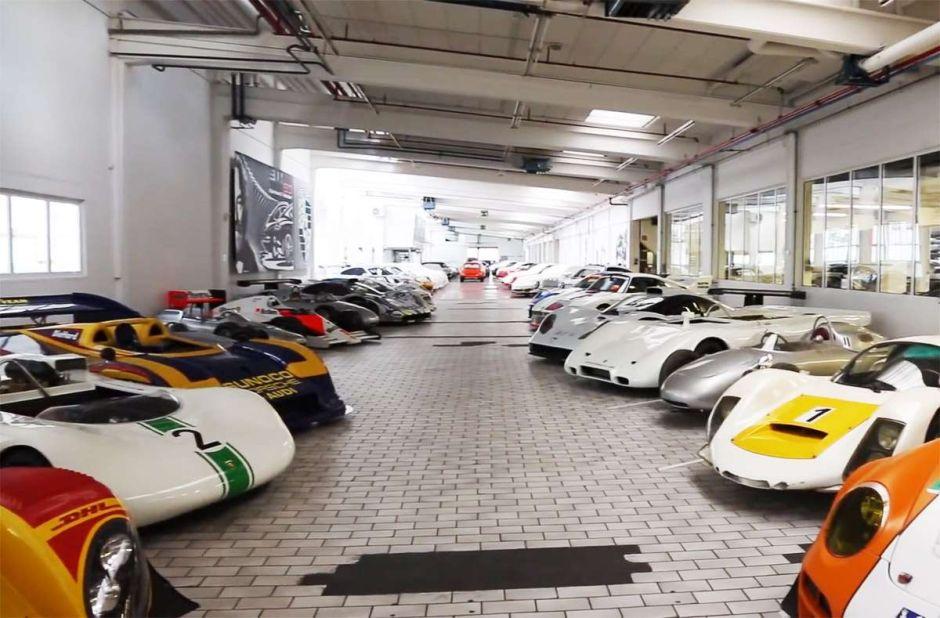 Video secreto: bodega de prototipos Porsche