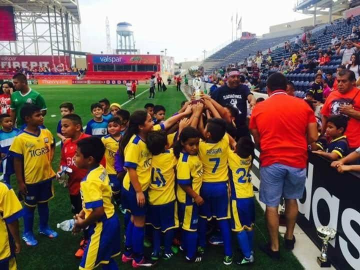 Los campeones Tigres de Monterrey llegan a Chicago