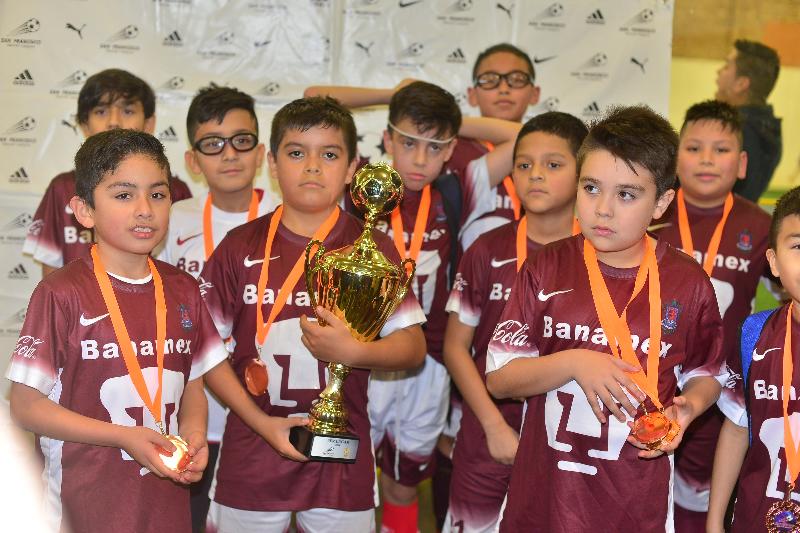 La Liga San Francisco arranca nuevo torneo para niños