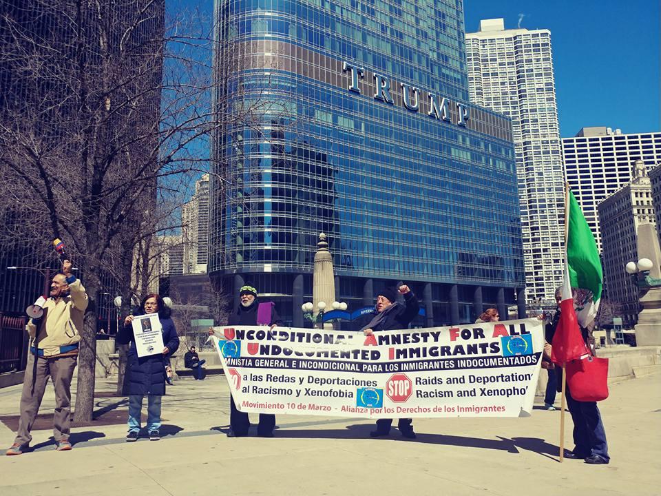 Tensión en Chicago por envío de la Guardia Nacional a la frontera con México