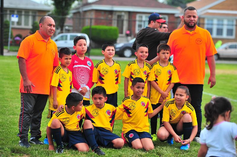 Marquette Park Kids Soccer inaugura un 'Mundial' con niños