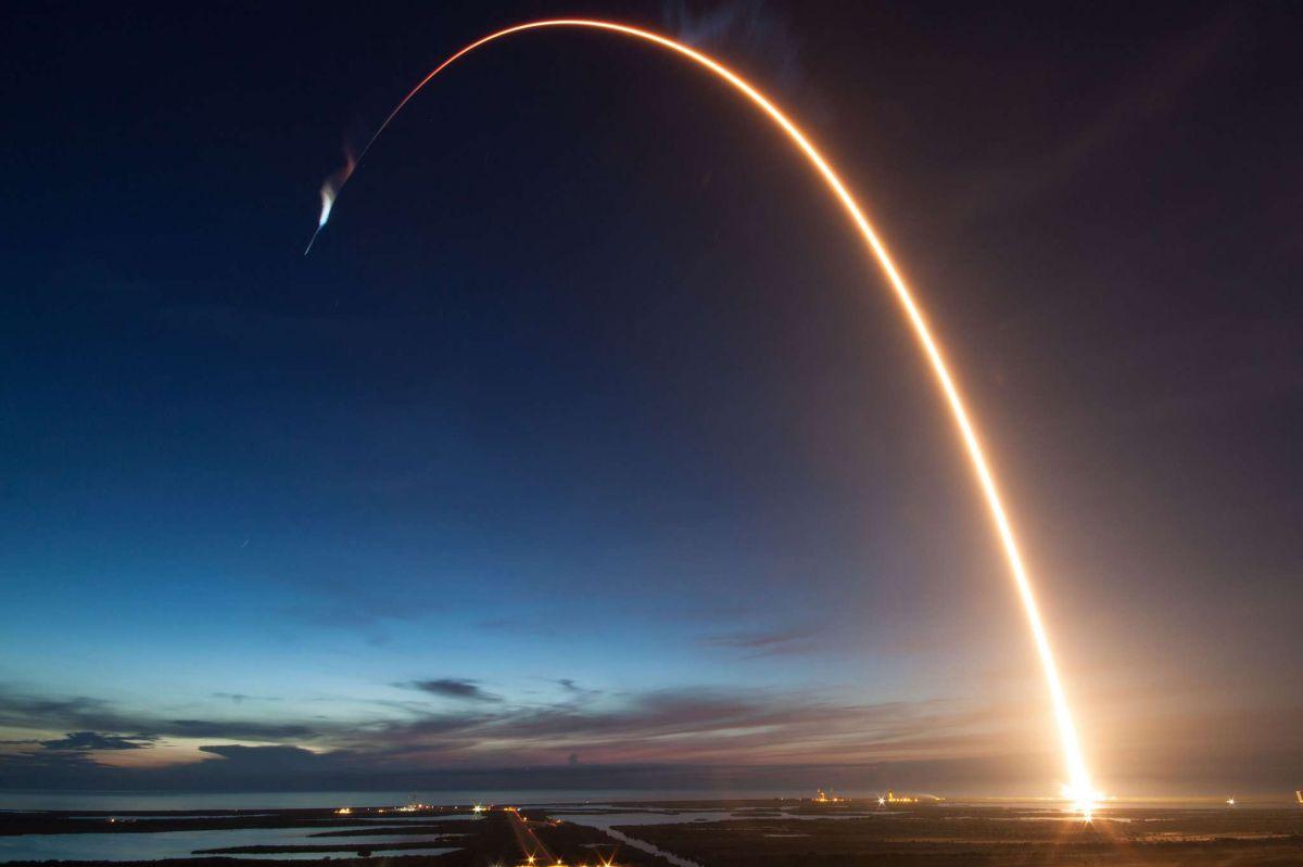 Las sensacionales imágenes del lanzamiento del Dragón de SpaceX