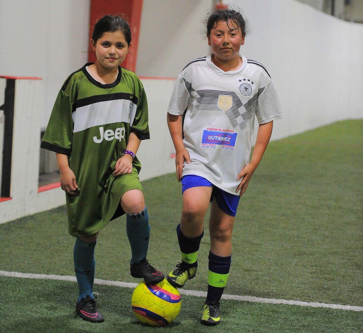Pequeñas gigantes del futbol femenil