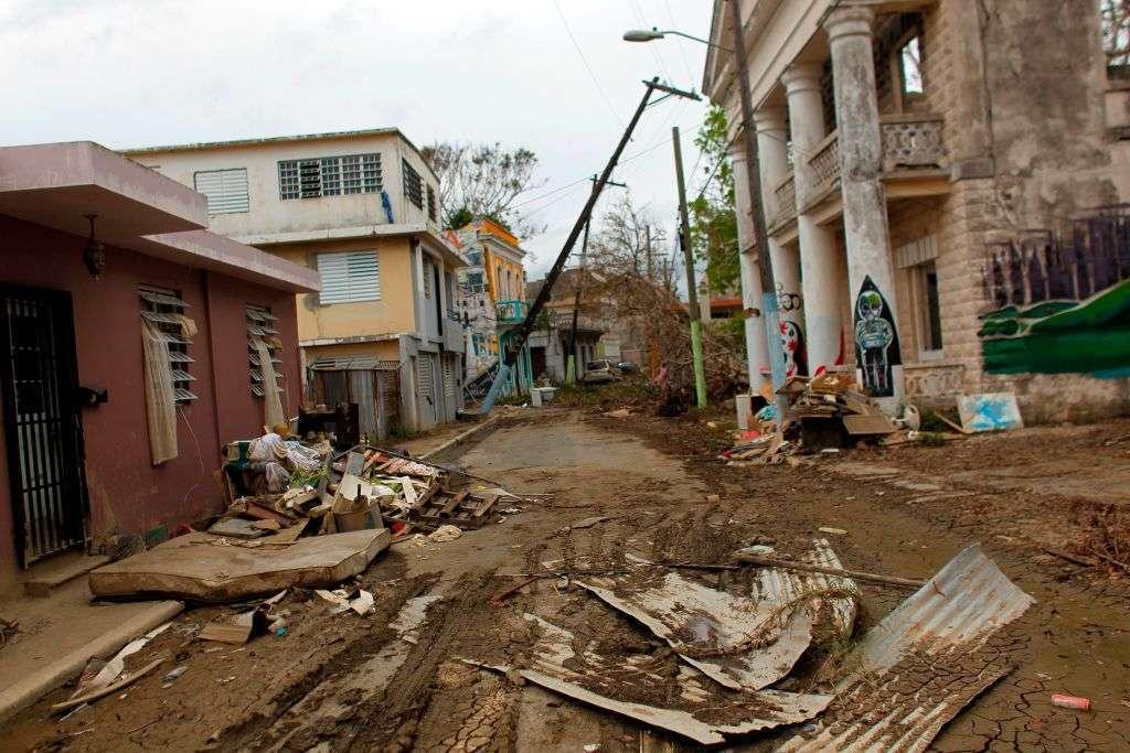 La fuerza de la naturaleza golpeó a Puerto Rico con el huracán María.
