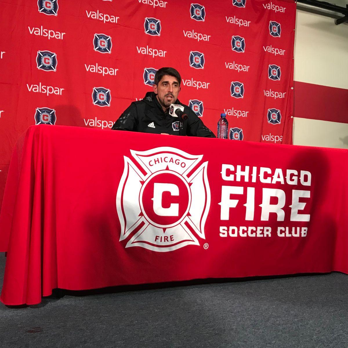Paunovic duda de su permanencia en el Chicago Fire