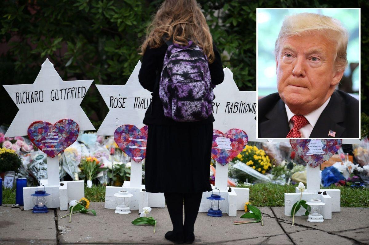 Varios líderes de la comunidad judía en Pittsburgh rechazan la visita del presidente Trump.