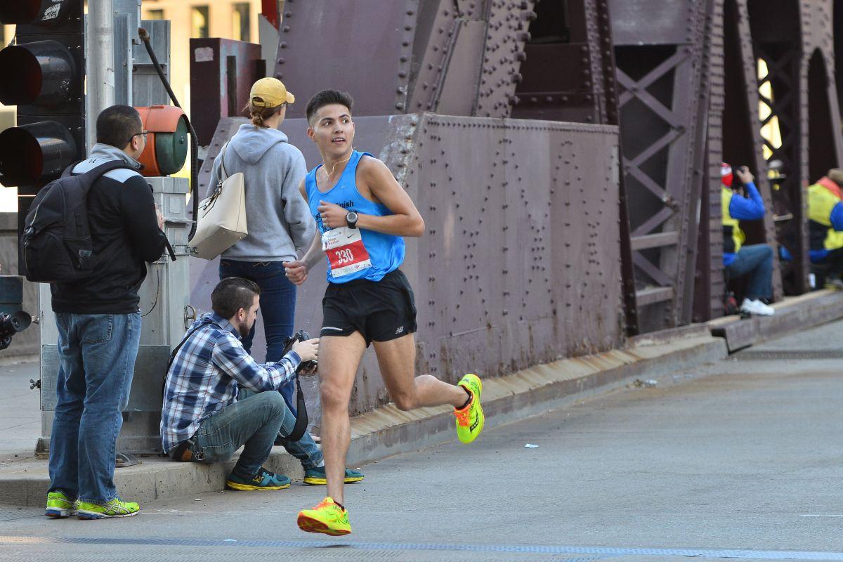 Oscar Medina busca que Chicago sea su boleto a las pruebas olímpicas