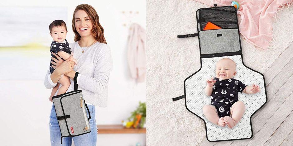 4 cambiadores de bebé portátiles que puedes llevar de viaje