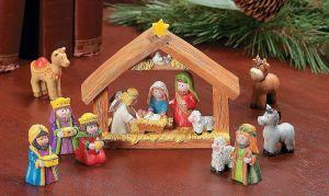 5 pesebres de navidad para celebrar el nacimiento de Jesús