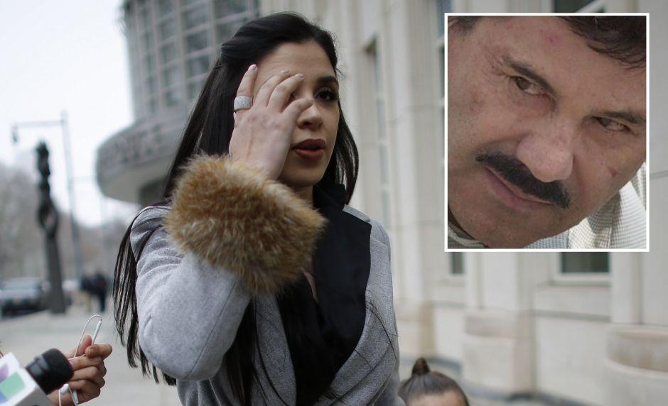 """Emma Coronel """"desaparece"""" otra vez del juicio de """"El Chapo"""""""
