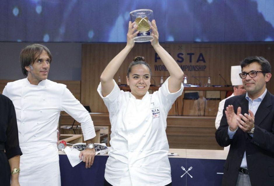 La chef Carolina Díaz es la reina de las pastas