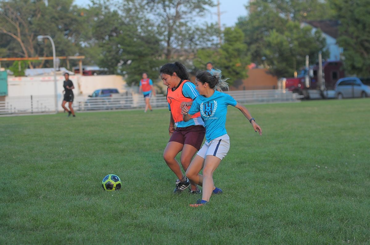 Ladies Steel City FC y Cicero Jaguars en liga semiprofesional UPSL