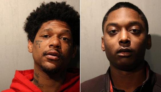 Menelik Jackson y Jovan Battle fueron acusados del asesinato del oficial CPD John Rivera