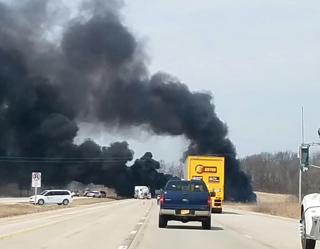 Policía estatal muere en accidente cerca de Freeport en Illinois