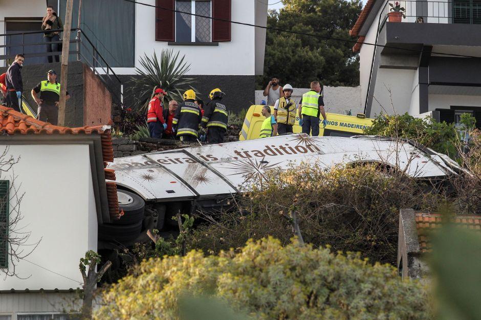29 muertos por accidente de autobús turístico en Madeira, donde nació Cristiano Ronaldo