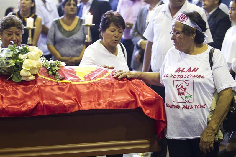 La carta suicida del expresidente de Perú Alan García