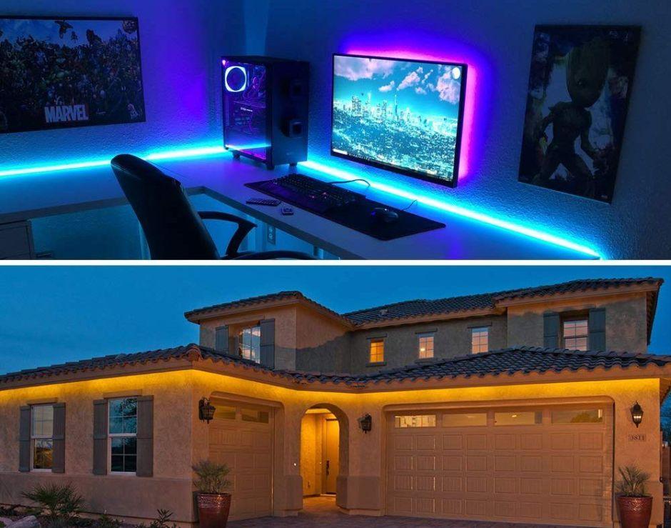 Las 6 mejores cintas de luces LED para cuando necesitas mayor iluminación en tu casa pero ahorrando dinero