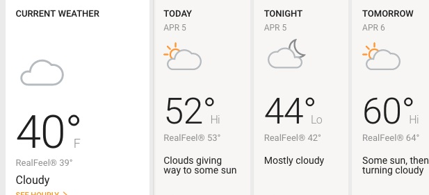 Viernes principalmente nublado y con algo de sol por la tarde en Chicago