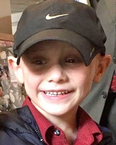 """Andrew """"AJ"""" Freund de cinco años fue presuntamente asesinado por sus padres."""