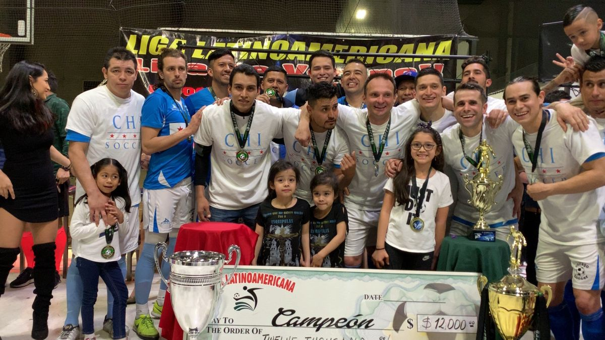 Chicago Soccer repite como campeón en la Liga Latinoamericana
