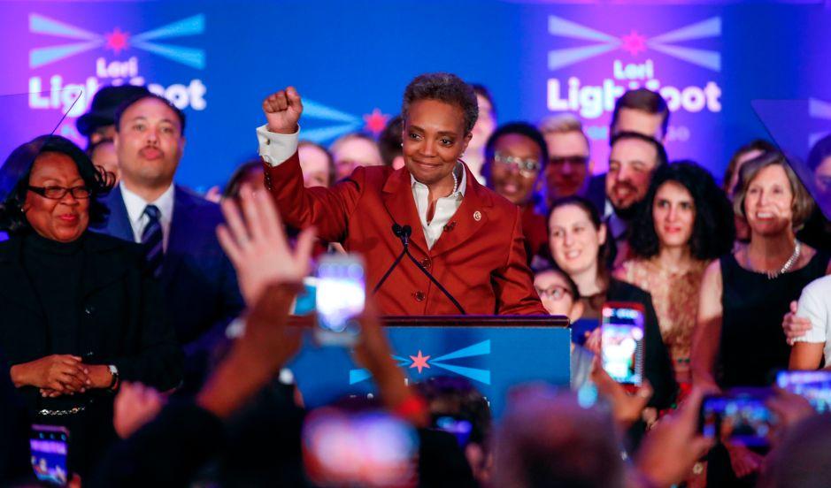 Lori Lightfoot gana la alcaldía de Chicago con aplastante triunfo electoral