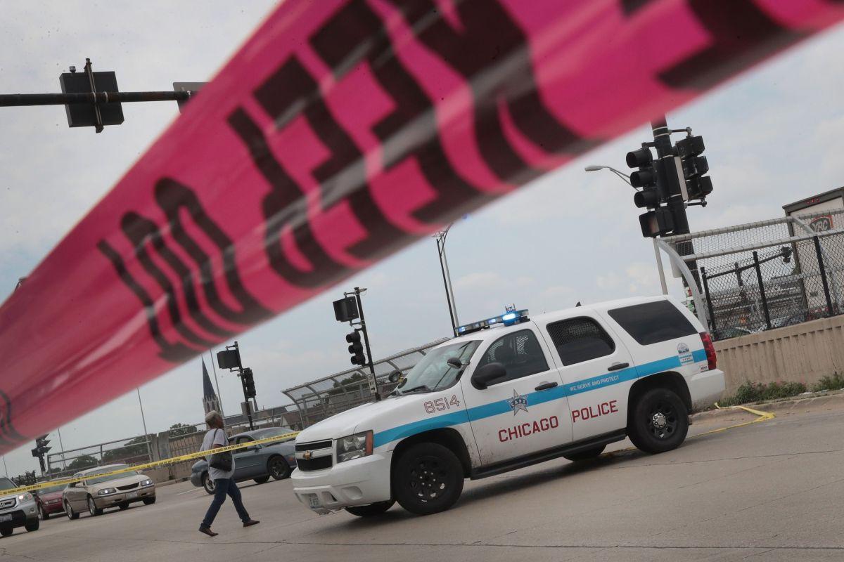 Patrulla impacta niña de 13 años cerca de Chicago Water Tower