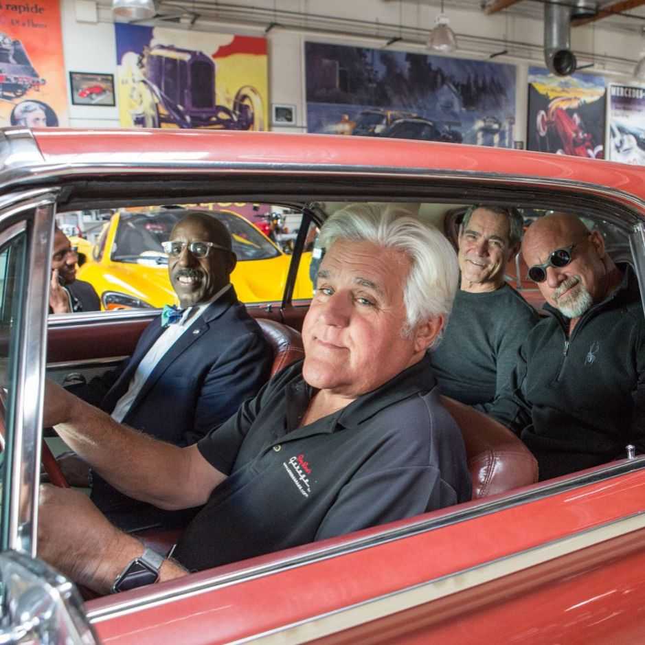 Jay Leno tiene el auto clásico más raro de todos los famosos