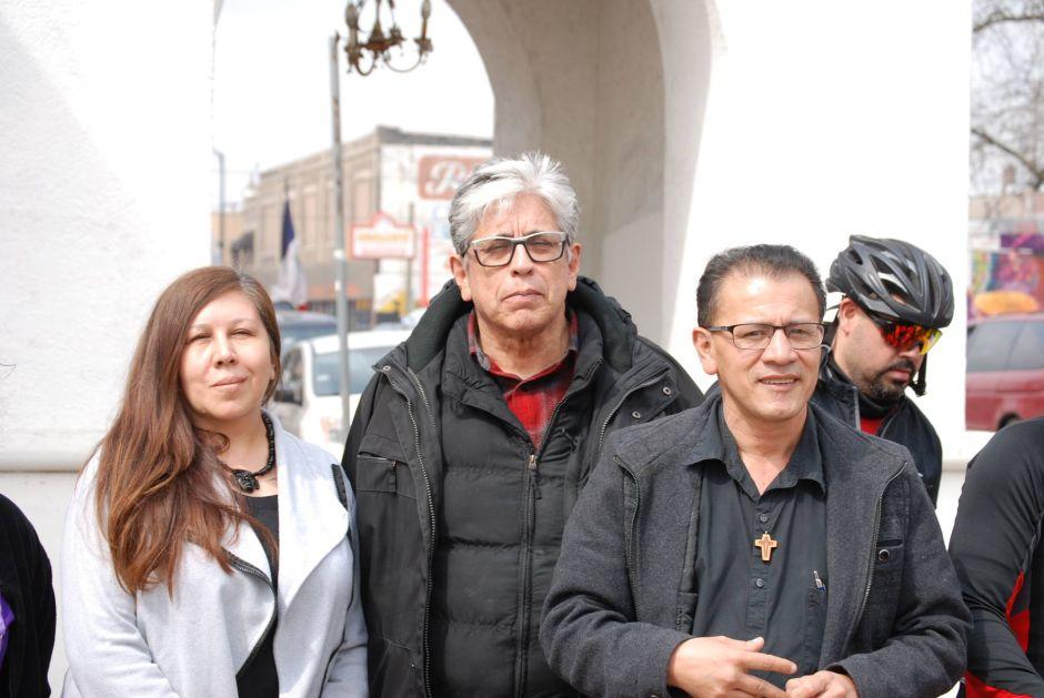 Caminata de 80 millas contra centro de detención en Illinois