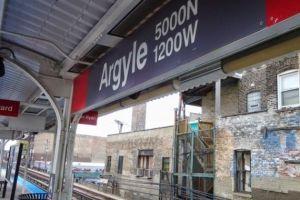Tiroteo en plataforma CTA de la estación de línea roja de Argyle deja como saldo dos personas heridas