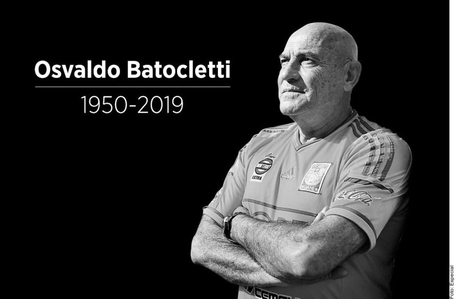 Muere la leyenda de Tigres Osvaldo Batocletti