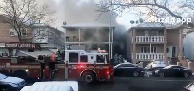 1 bebé y dos adultos hospitalizados tras incendio en el vecindario de Jefferson Park en Chicago