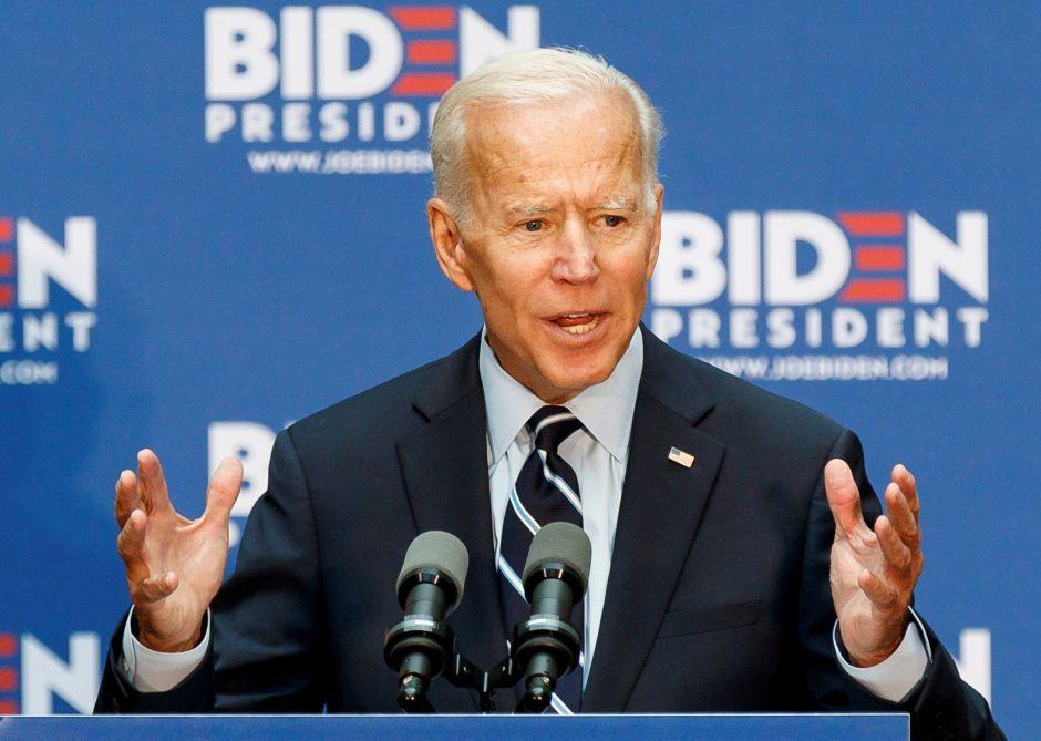 Joe Biden critica la política exterior del presidente Trump en un video