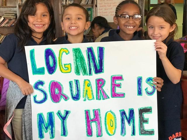 La comunidad de Logan Square lucha contra el desplazamiento y para construir opciones de vivienda asequible en ese histórico barrio de Chicago.
