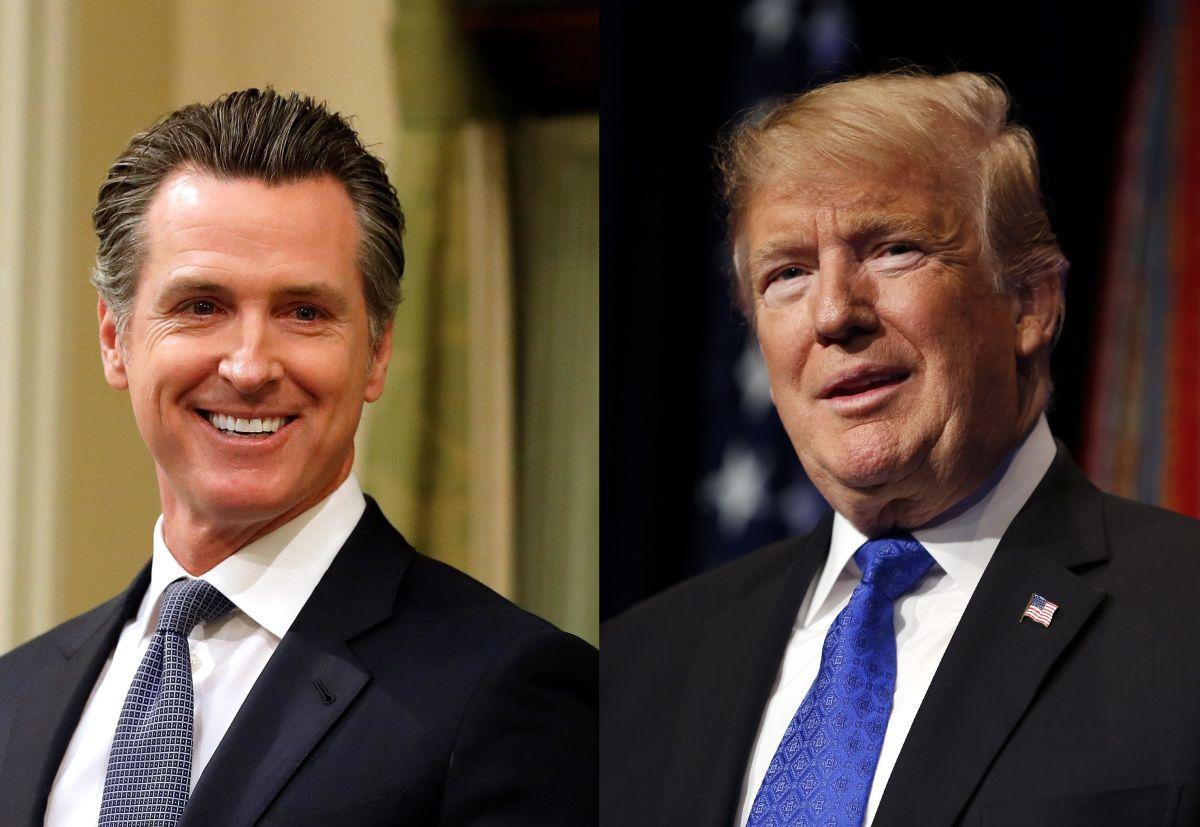 Gavin Newsom fue el primero en desafiar a Donald Trump