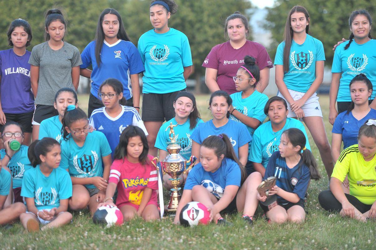 Cicero Jaguars FC, campeonas invictas en Guadalajara