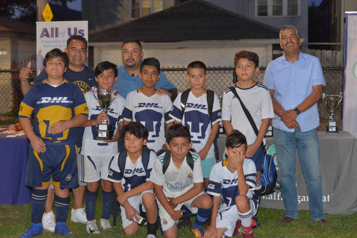 La organización ALFA (All Family Active) celebró 26 partidos en el Kelly Park. (Javier Quiroz / La Raza)