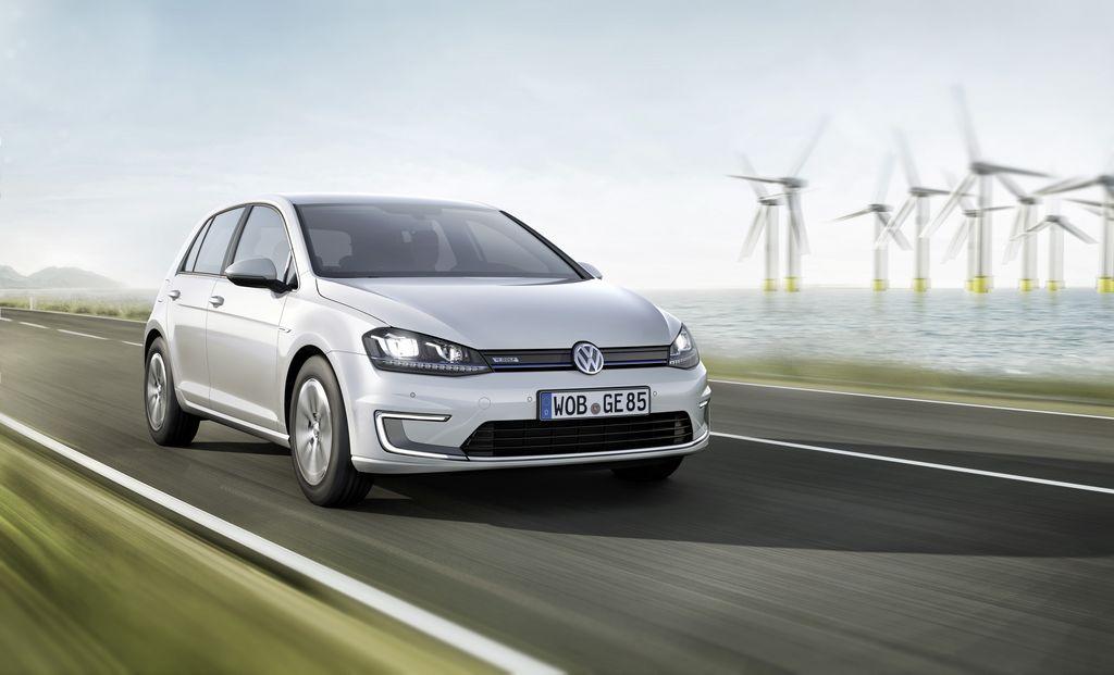 El e-Golf de VW es uno de los modelos más vendidos con motor a gas natural