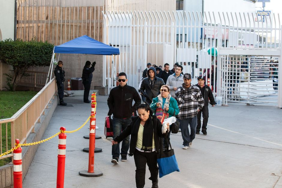 """El """"caos"""" de la frontera les impidió llegar a corte. Y algunos fueron deportados por no presentarse"""