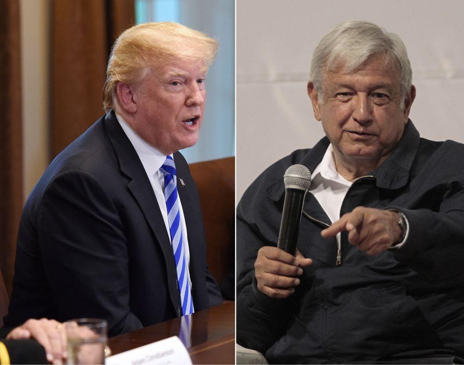 """Trump vuelve a alabar a AMLO en la frontera por sus restricciones migratorias: """"Ha sido fantástico"""""""