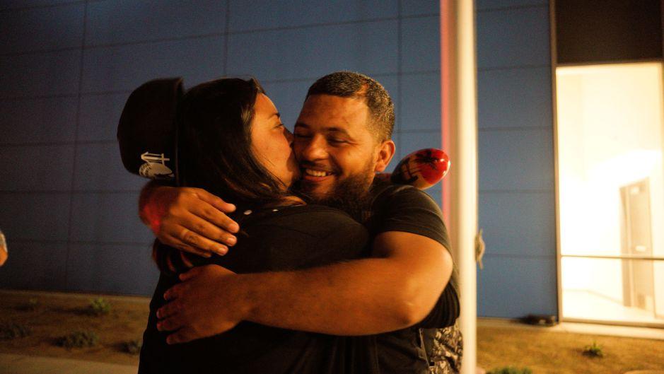 Esperaba en la frontera, hoy este hondureño logra el asilo deseado