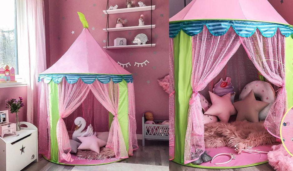 5 tiendas de campaña para niñas que tu hija amará tener en su cuarto