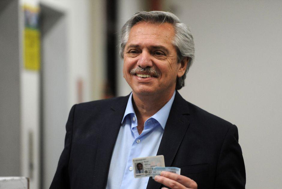 Alberto Fernández se impone en las elecciones presidenciales en Argentina